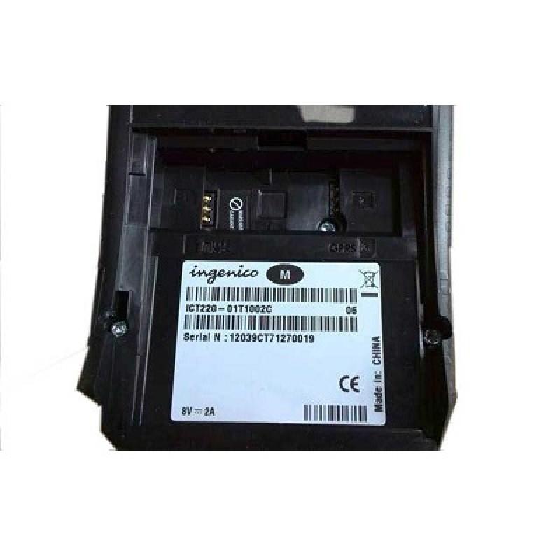 Máy POS Ingenico - ICT220 (Phương thức kết nối: TCP/IP, Dial up; Dạng máy: đơn, in nhiệt)