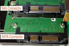 Phân biệt hai chuẩn ổ cứng SAS và SATA